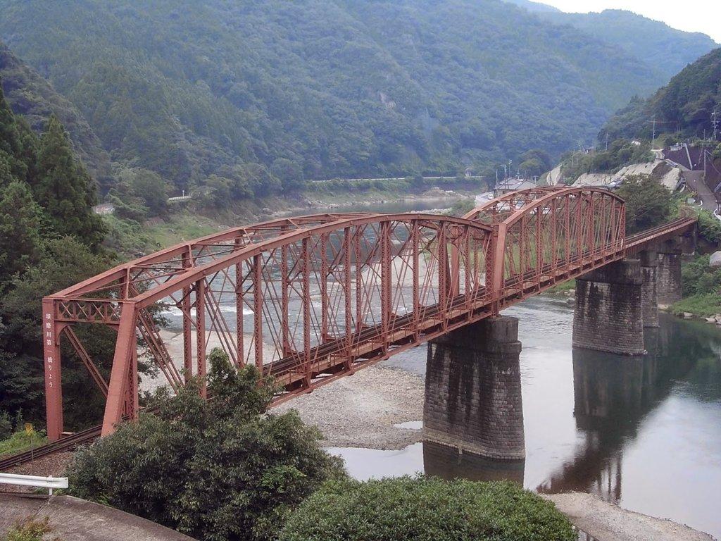 Kuma River First Railway Bridge 02.jpg